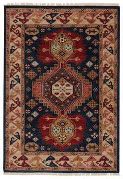 Jaipur Living Village By Artemis Blue Rectangle 8x10 ft Wool Carpet 119497