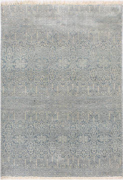 "Modern Blue Hand Knotted 3'0"" X 5'0""  Area Rug 904-119806"