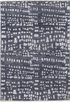 "Modern Grey Hand Knotted 3'2"" X 5'0""  Area Rug 904-119810"