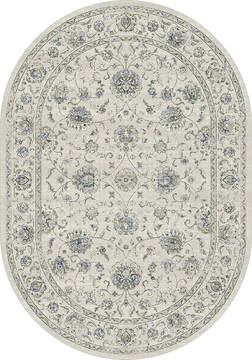 "Dynamic ANCIENT GARDEN Beige Oval 2'7"" X 4'7"" Area Rug ANOV35571266666 801-119924"