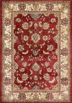 "Dynamic ANCIENT GARDEN Red 2'0"" X 3'11"" Area Rug AN24571581464 801-119992"