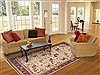 Qum Beige Hand Knotted 68 X 99  Area Rug 100-12013 Thumb 4