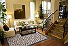 Modern Beige Hand Knotted 711 X 910  Area Rug 100-12049 Thumb 3