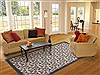 Modern Beige Hand Knotted 711 X 910  Area Rug 100-12049 Thumb 4
