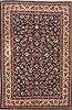 Mashad Blue Hand Knotted 69 X 99  Area Rug 100-12121 Thumb 0