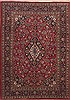 Kashan Red Hand Knotted 67 X 96  Area Rug 100-12126 Thumb 0