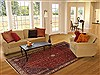 Abadeh Red Hand Knotted 611 X 99  Area Rug 100-12135 Thumb 4