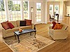 Patchwork Beige Hand Knotted 41 X 60  Area Rug 100-12140 Thumb 5