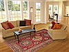 Kazak Red Hand Knotted 65 X 810  Area Rug 100-12141 Thumb 4