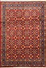 Birjand Red Hand Knotted 66 X 96  Area Rug 100-12155 Thumb 0