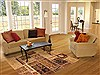 Patchwork Beige Hand Knotted 410 X 74  Area Rug 100-12159 Thumb 5