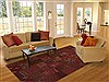 Bokhara Red Hand Knotted 61 X 89  Area Rug 100-12164 Thumb 4