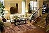 Patchwork Brown Hand Knotted 82 X 99  Area Rug 100-12186 Thumb 3
