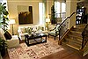 Patchwork Beige Hand Knotted 80 X 99  Area Rug 100-12189 Thumb 3