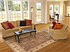 Ziegler Brown Hand Knotted 80 X 103  Area Rug 100-12198 Thumb 4