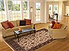 Jaipur White Hand Knotted 80 X 100  Area Rug 100-12200 Thumb 4