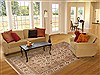Jaipur Beige Hand Knotted 79 X 100  Area Rug 100-12204 Thumb 4