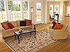 Jaipur Beige Hand Knotted 80 X 102  Area Rug 100-12215 Thumb 4