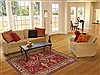Kazak Red Hand Knotted 410 X 75  Area Rug 100-12255 Thumb 5
