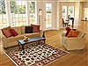 Jaipur Beige Hand Knotted 40 X 62  Area Rug 100-12256 Thumb 5