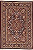 Qum Blue Hand Knotted 33 X 49  Area Rug 100-12259 Thumb 0
