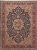 Kerman Red Hand Knotted 711 X 1011  Area Rug 100-12282 Thumb 0