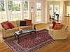 Kashan Red Hand Knotted 67 X 102  Area Rug 100-12287 Thumb 4