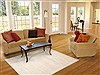 Indo-Nepal Beige Hand Knotted 50 X 70  Area Rug 100-12299 Thumb 5