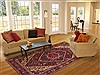 Bakhtiar Red Hand Knotted 611 X 104  Area Rug 100-12312 Thumb 4