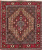 Sanandaj Red Hand Knotted 41 X 410  Area Rug 100-12318 Thumb 0