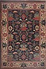 Tabriz Blue Hand Knotted 136 X 197  Area Rug 100-12352 Thumb 0