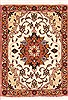 Tabriz Beige Square Hand Knotted 10 X 13  Area Rug 100-12361 Thumb 0
