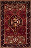 Sirjan Red Hand Knotted 47 X 70  Area Rug 251-12403 Thumb 0