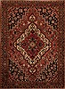 Bakhtiar Purple Hand Knotted 52 X 70  Area Rug 251-12410 Thumb 0