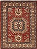 Kazak Red Hand Knotted 57 X 74  Area Rug 251-12411 Thumb 0