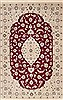 Nain Red Hand Knotted 35 X 52  Area Rug 251-12442 Thumb 0