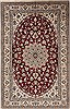 Nain Red Hand Knotted 50 X 80  Area Rug 251-12443 Thumb 0