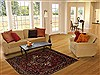 Hamedan Red Hand Knotted 52 X 611  Area Rug 251-12450 Thumb 5