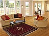 Hossein Abad Red Hand Knotted 48 X 74  Area Rug 251-12462 Thumb 5