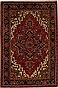 Heriz Red Hand Knotted 67 X 911  Area Rug 251-12484 Thumb 0