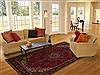 Tabriz Red Hand Knotted 69 X 911  Area Rug 251-12494 Thumb 4