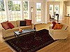 Bakhtiar Red Hand Knotted 69 X 911  Area Rug 251-12500 Thumb 4