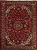 Bakhtiar Red Hand Knotted 75 X 91  Area Rug 251-12507 Thumb 0