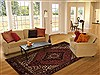 Goravan Red Hand Knotted 611 X 98  Area Rug 251-12509 Thumb 4