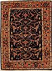 Mahal Blue Hand Knotted 67 X 89  Area Rug 251-12514 Thumb 0