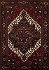 Goravan Red Hand Knotted 69 X 99  Area Rug 251-12517 Thumb 0