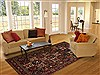 Bakhtiar Red Hand Knotted 69 X 99  Area Rug 251-12518 Thumb 4