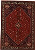 Abadeh Red Hand Knotted 57 X 80  Area Rug 251-12545 Thumb 0