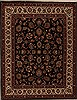 Sarouk Blue Hand Knotted 65 X 82  Area Rug 251-12549 Thumb 0