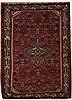 Hamedan Red Hand Knotted 35 X 48  Area Rug 251-12570 Thumb 0